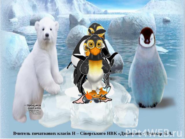 Фізкультхвилинка з пінгвінами