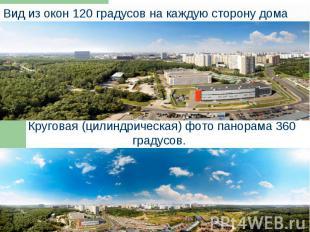 Круговая (цилиндрическая) фото панорама 360 градусов. Круговая (цилиндрическая)