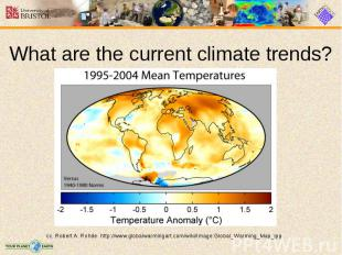 What are the current climate trends?