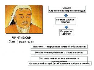 ЧИНГИЗХАНХан (правитель)
