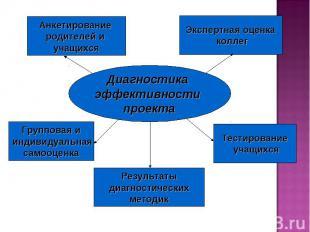 Диагностика эффективности проекта