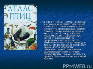 Эта книга о птицах - самых нарядных и неугомонных обитателях нашей планеты. Это