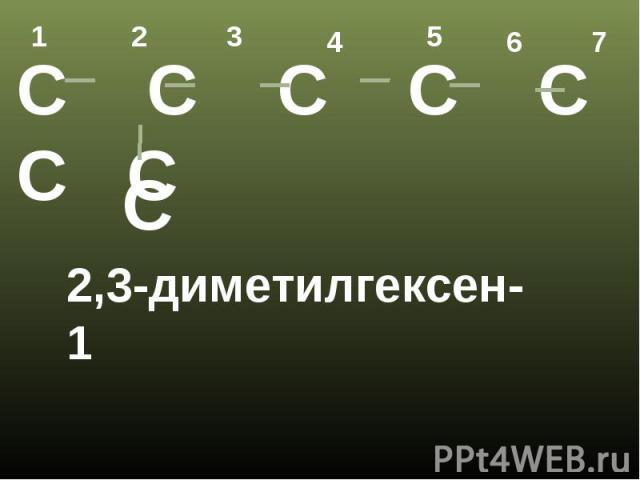 2,3-диметилгексен-1