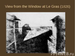 View from the Window at Le Gras (1826)