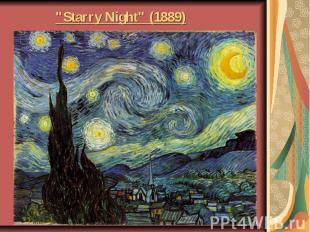 """Starry Night"" (1889)"