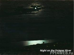 Night on the Dnieper River