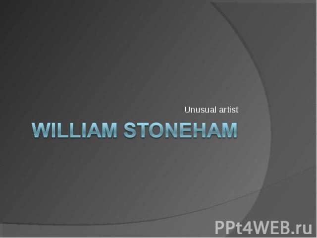 William Stoneham