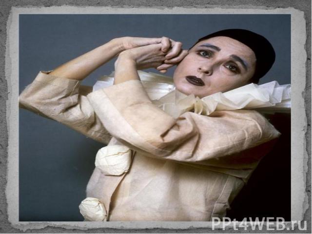 Образ ПьероОбраз Пьеро— «комичный страдалец, в котором сквозь его манеру видны истинное страдание и благородство. Это один из самых известных образов Вертинского.