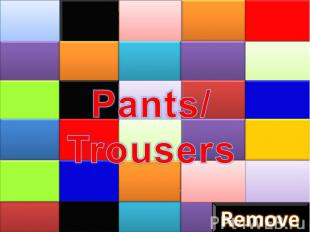 Pants/Trousers