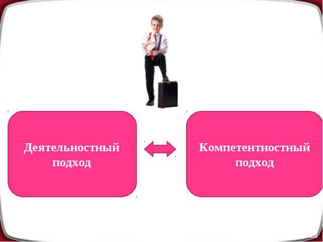 Деятельностный подходКомпетентностный подход