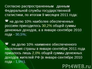 Согласно распространенным данным Федеральной службы государственной статистики,