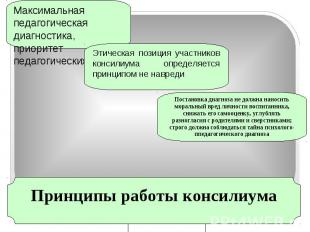 Максимальная педагогическая диагностика, приоритет педагогических задачЭтическая
