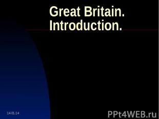 Great Britain.Introduction.