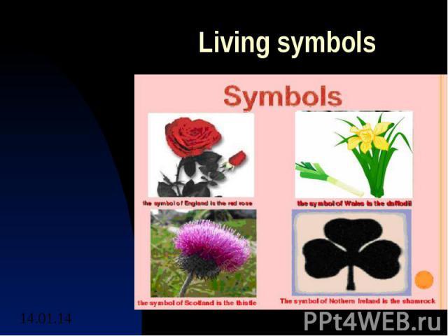 Living symbols