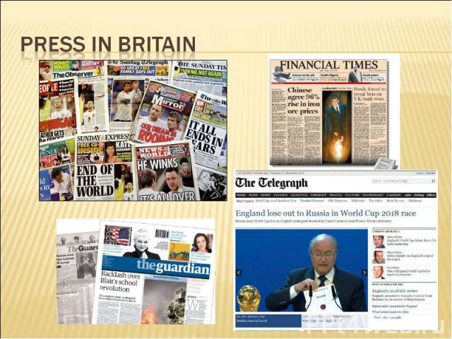 Press in Britain