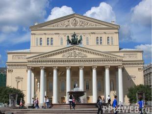 Театральная площадь с Большим театром