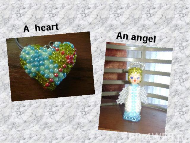 A heartAn angel