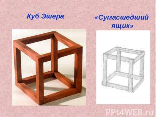 Куб Эшера«Сумасшедший ящик»