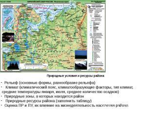 Рельеф (основные формы, разнообразие рельефа) Климат (климатический пояс, климат
