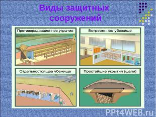 Виды защитных сооружений