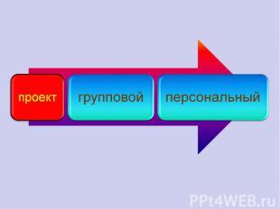 проектгрупповойперсональный