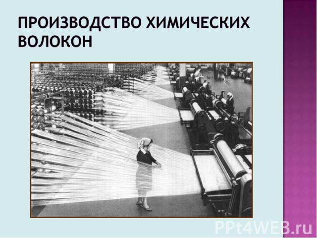 Производство химических волокон