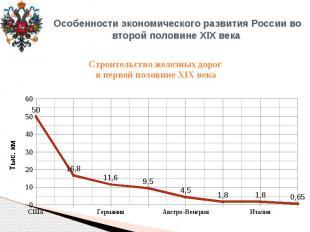 Особенности экономического развития России во второй половине XIX века Строитель