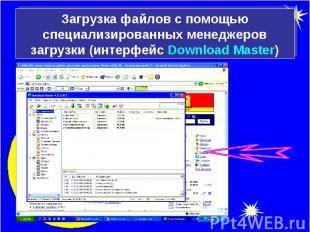 Загрузка файлов с помощью специализированных менеджеров загрузки (интерфейс Down