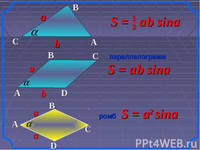 параллелограмм ромб прямоугольник