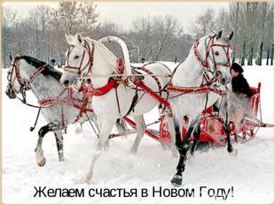 Желаем счастья в Новом Году!