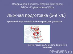 Владимирская область, Петушинский районВладимирская область, Петушинский районМБ