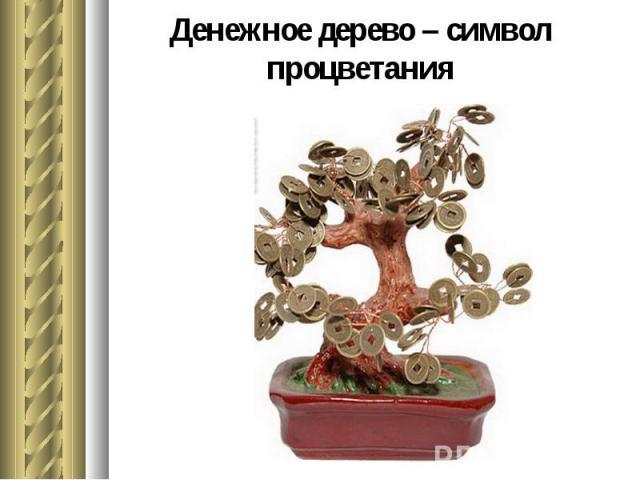 Денежное дерево – символ процветания