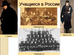 Учащиеся в России Студент Гимназистки Курсистка Гимназисты