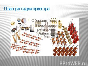 План рассадки оркестра