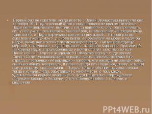 Первый раз её схватили, когда вместе с Ваней Звонцовым вывесила она 7 ноября 194