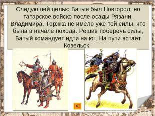 Следующей целью Батыя был Новгород, но татарское войско после осады Рязани, Влад