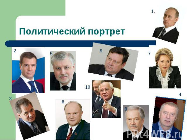 Политический портрет