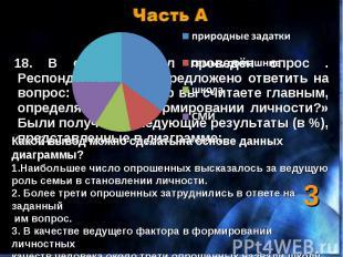 Часть А Какой вывод можно сделать на основе данных диаграммы?Наибольшее число оп