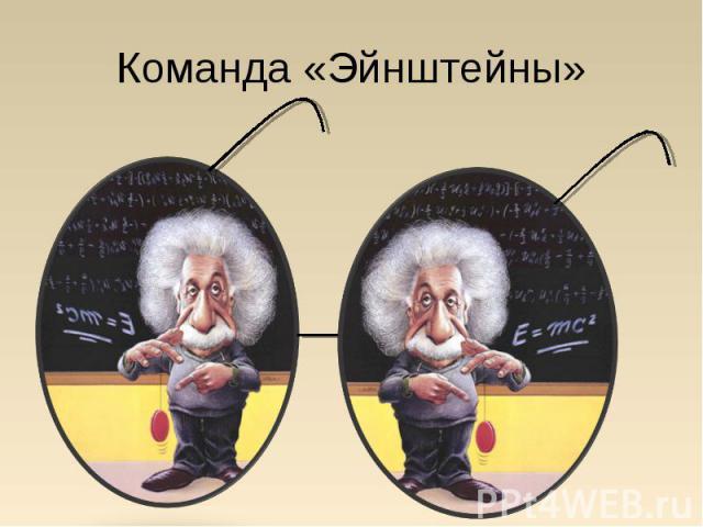 Команда «Эйнштейны»