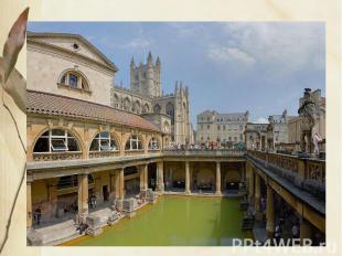 Термы Среди крупнейших общественных построек Древнего Рима необходимо назвать зд