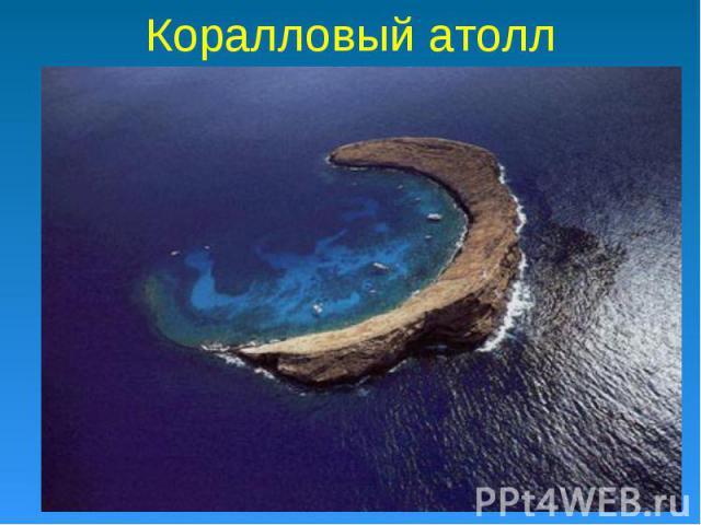 Коралловый атолл