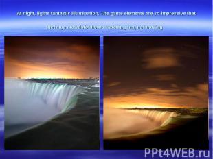 At night,lightsfantasticillumination.The gameelementsare soimpressive tha