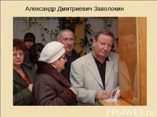 Александр Дмитриевич Заволокин