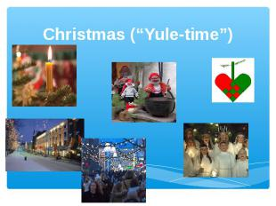 "Christmas (""Yule-time"")"