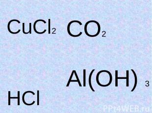 CuCl2CO2Al(OH) 3HCl
