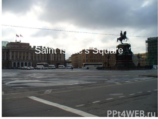 Saint Isaac's Square