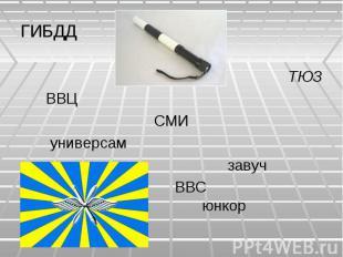 ГИБДДТЮЗ ВВЦСМИ универсам завуч ВВС юнкор