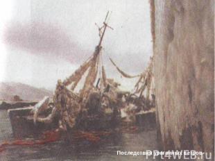 Последствия ураганных ветров