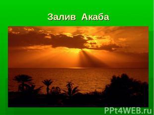 Залив Акаба