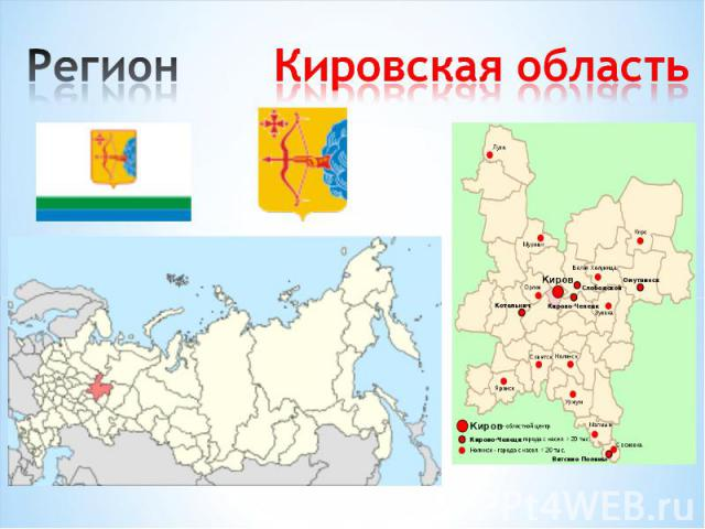 Регион Кировская область